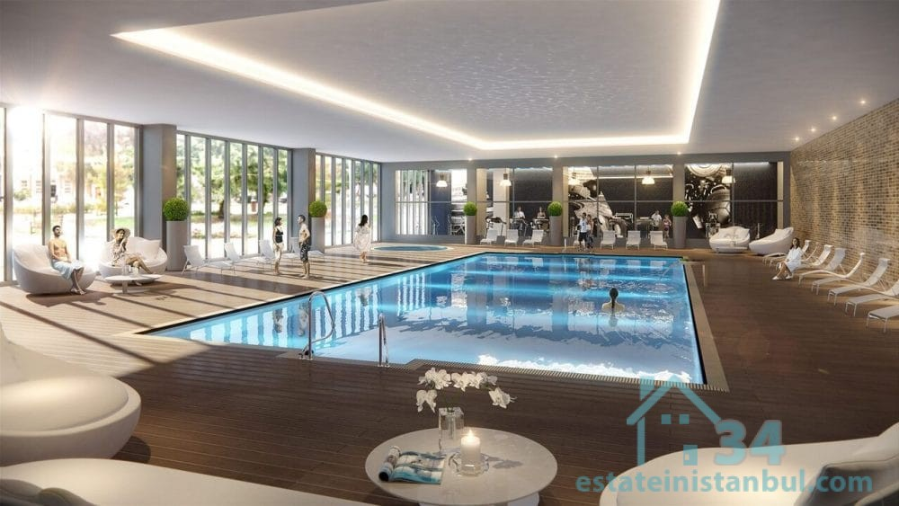 Luxurious Three Bedroom Apartment at the Future Commercial Heart of Istanbul, Turkey.