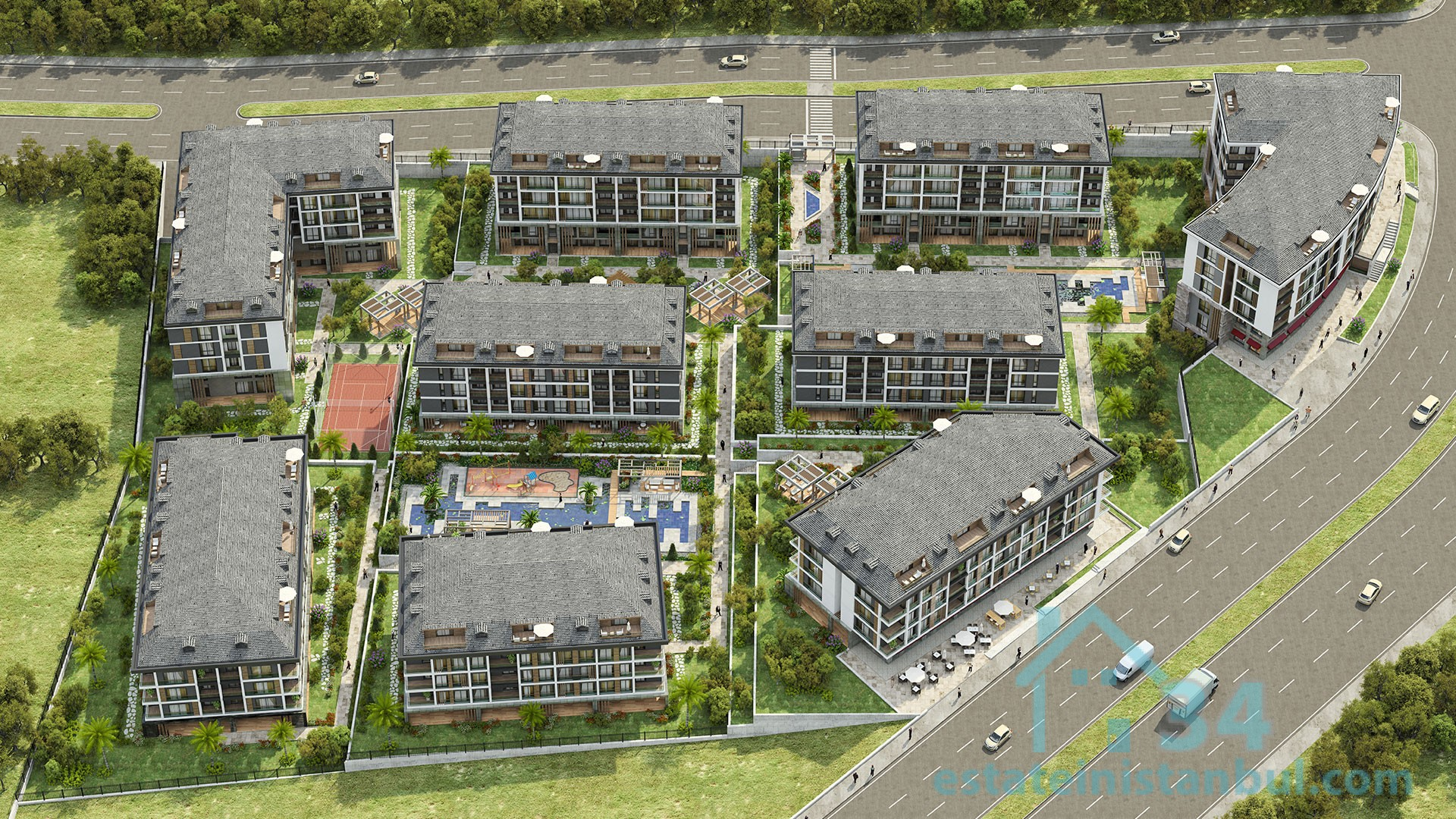 High Quality 4+2 Duplexes At The Best Project Of Beylikduzu, Istanbul