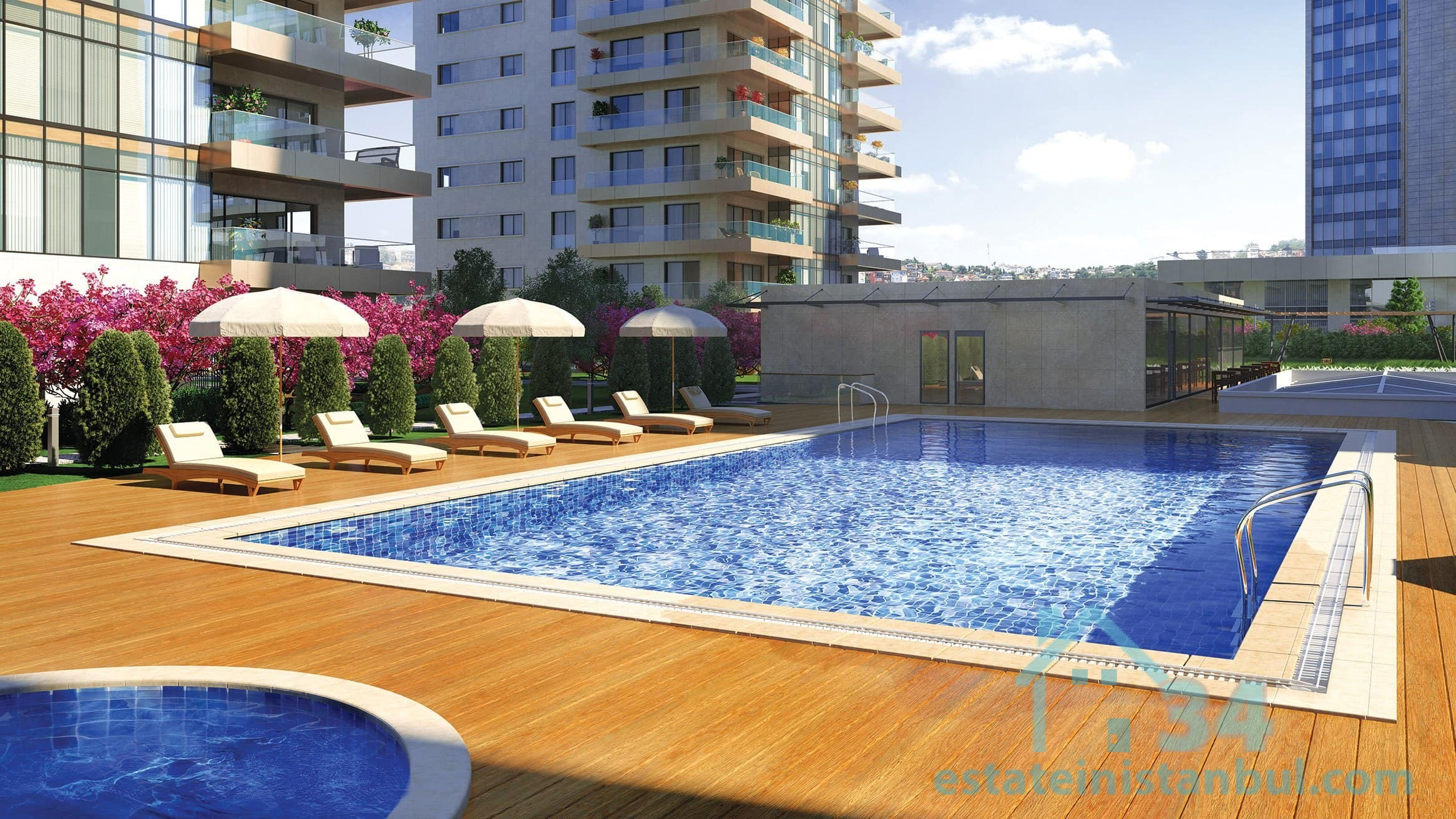 Newly Built Modern & Luxurious FOUR Bedroom Apartments By The Sea In The Heart Of Istanbul